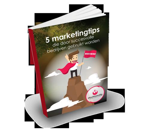 Ontvang 5 marketingtips die door succesvolle bedrijven gebruikt worden